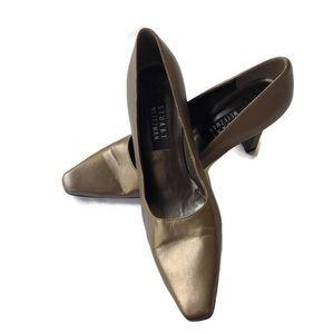 Stuart Weitzman Pumps Brown metallic Slide On shoe